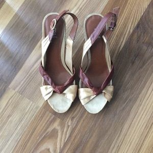 Bakers heeled shoe
